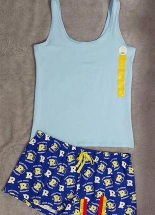 Пижама или костюм для дома , 14-16 размер (евро 42-44)