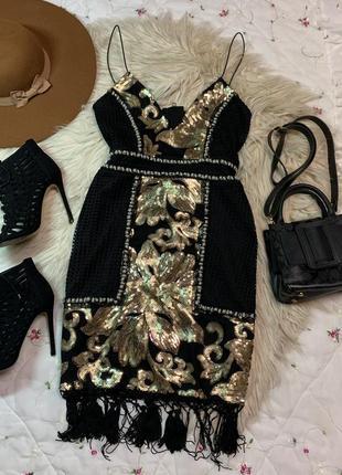 Шикарное платье размер m