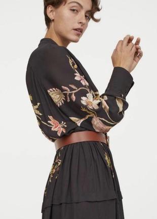 Платье h&m h&m viscosa