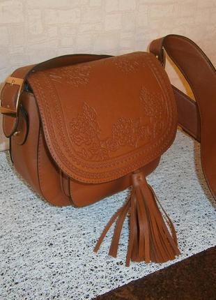 Красивая сумка кросс-боди в этно-стиле. primark