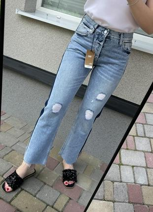Новые джинсы mango джинси