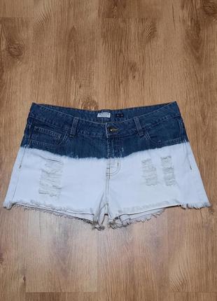 Шорты джинсовые regular deepdye