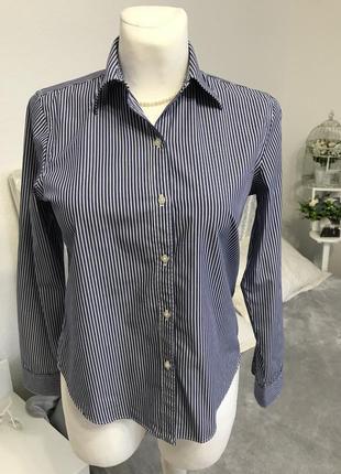 Хлопковая рубашка non iron / не требует утюжки /