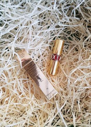 Помада для губ ysl rouge volupte shine oil-in-stick - оттенок 84 red cassandre