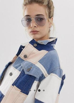 Стильные очки солнцезащитные asos авиатор