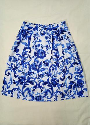 Модная оригинальная итальянская юбка миди max mara