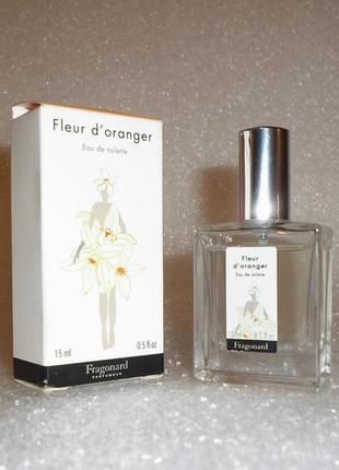 Edt *fleur d'oranger* от fragonard