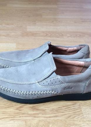 Кожаные туфли gallus 40 размера в отличном состоянии