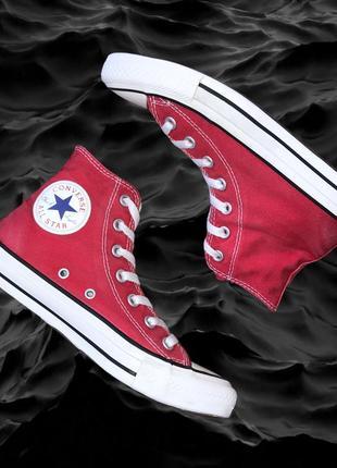 Converse chuck taylor red shoes красные кеды