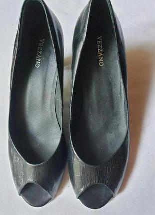 Испанские женские туфли vezzano кожа 38 р.