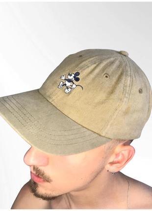 Vintage mickey mouse cap винтажная кепка микки маус disney