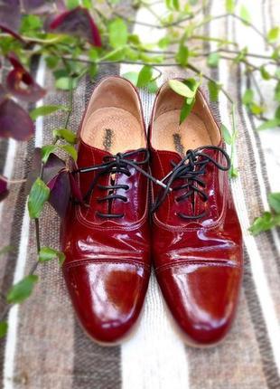 Туфлі бордові