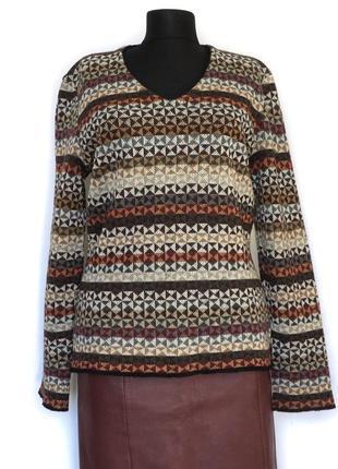 Жіночий шерстяний светр missoni sport