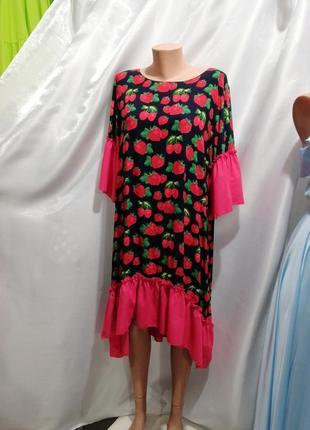 Платье хлопок штапель