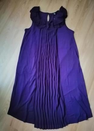 Нарядное платье а-силуэта