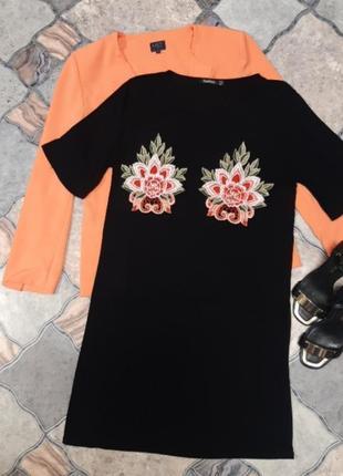 Летнее платье футболка размер:m