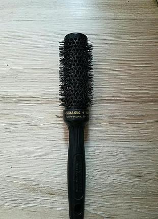 Термобрашинг 35 мм olivia garden ceramic + ion thermal brush black