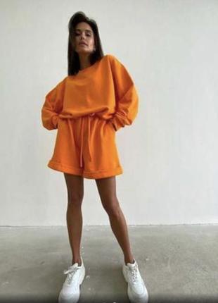 Костюм оранжевый 🧡