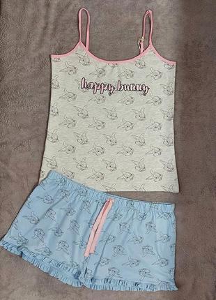 Пижама или костюм для дома , 18-20 размер (евро 46-48)