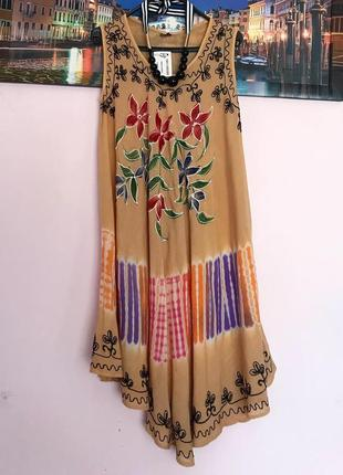 Новое натуральное платье
