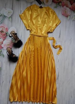 🌿невероятное платье плиссе от new look. размер l🌿