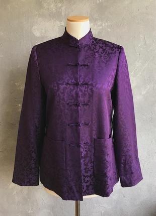 Китайский традиционный шелковый пиджак люкс бренд! artistic palace