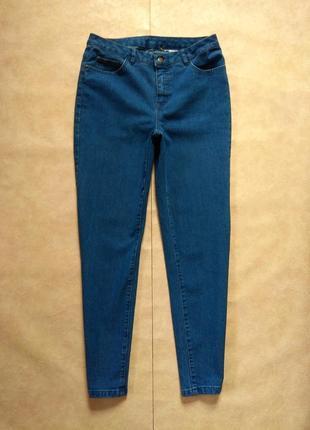 Стильные джинсы скинни с высокой талией c&a, 12 pазмер.