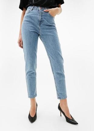 Суперовые джинсы мом базовые