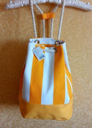 Стильный рюкзак в полоску / 4 трендовых цвета 🔥сезонные скидки🔥