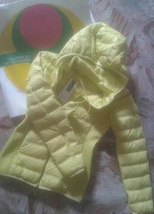 Куртка легкий пуховик