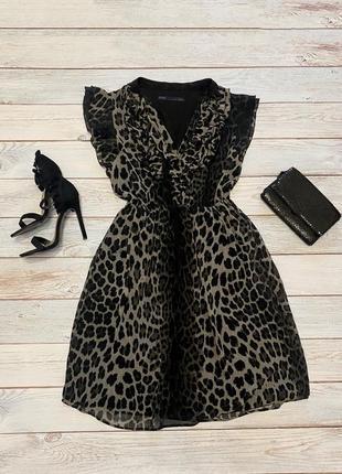 Леопардовое платье 🖤
