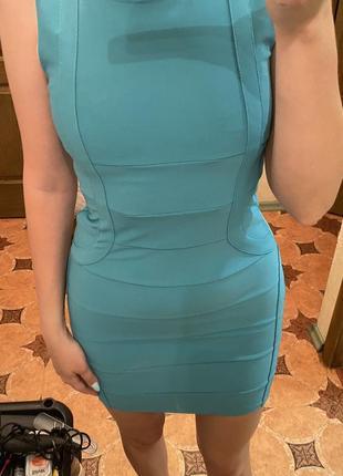 Платье мини по фигуре amisu