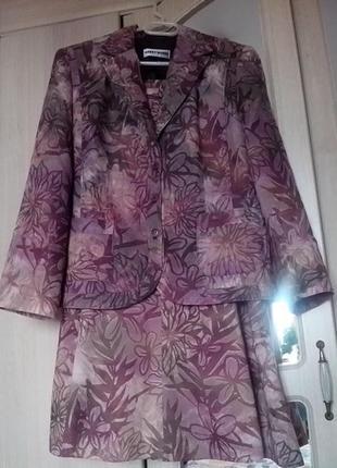 Натуральный шикарный 🌺💋🌺летний костюм от garry weber