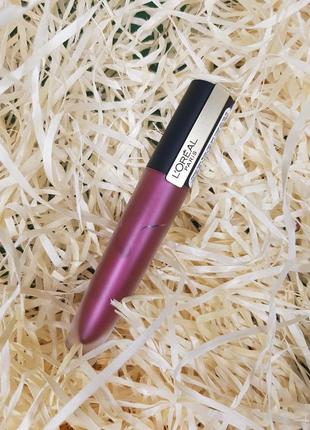Матовая помада-тинт для губ - оттенок 204 voodoo