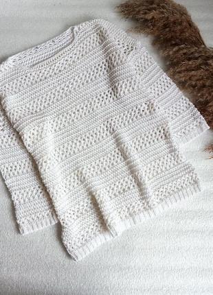 ✨в'язаний светр, сітка ✨
