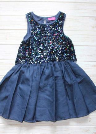 Нарядное платье next на 3года