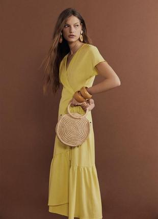 Платье манго mango