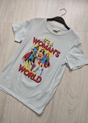 Стильная оверсайз футболка
