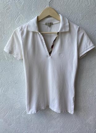 Оригінальна футболка поло burberry