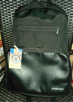 Harvest рюкзак унісекс чорний