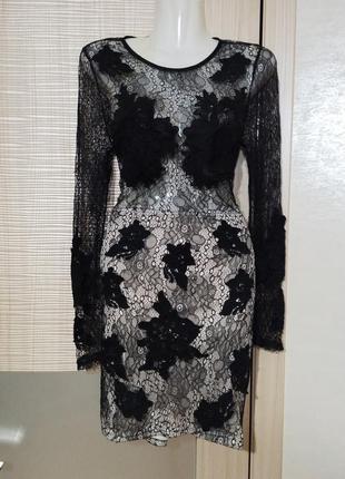 Акция 1+1=3🤑🤩шикарное вечернее ажурное,кружевное платье сексуальное по фигуре