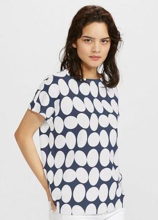 Женская футболка uniqlo & finlayson