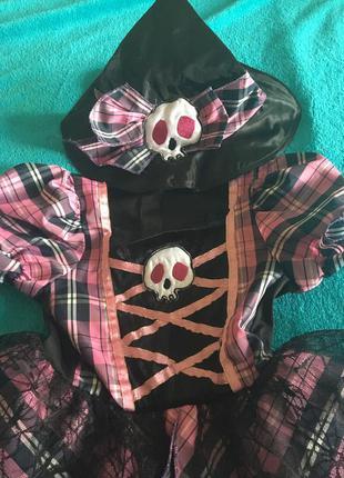 Карнавальный костюм карнавальное платье на хэллоуин пиратка ведьмочка