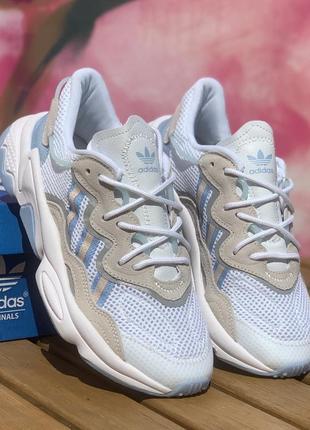 Adidas ozweego white blue