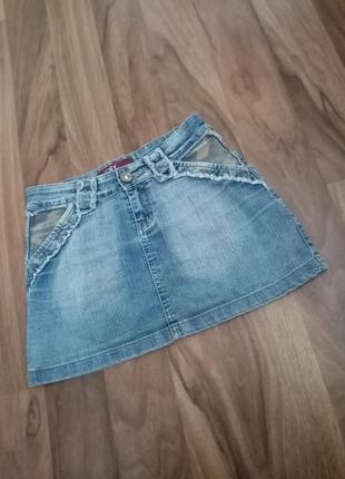 Лот речей джинсова спідничка і блузочка блуза блузка джинсовая юбка