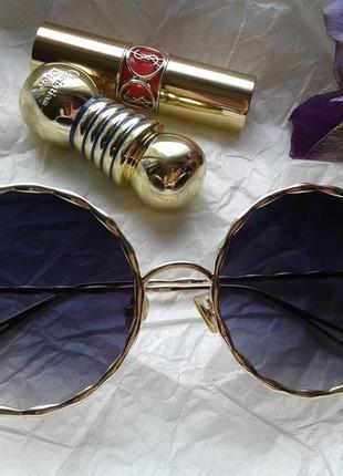 Круглые очки солнцезащитные италия