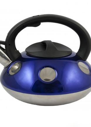 Чайник a-plus со свистком 2.6 л (1374-wk) (4 цвета)