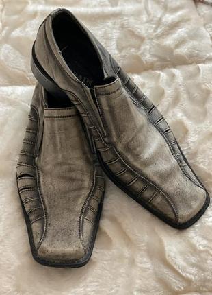 Италия мужские туфли комфортные броги