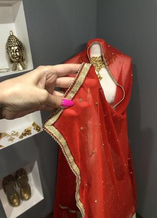 Шаль индийская одежда