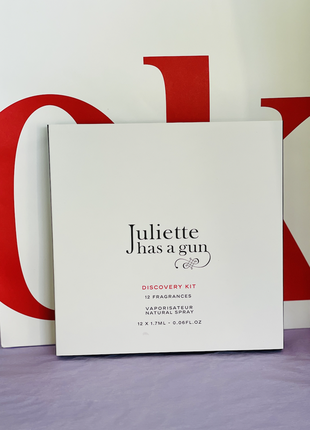Набор миниатюр  juliette has a gun discovery kit 12 ароматов